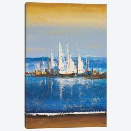 Blue Ocean II Canvas Print #PPI686} by Patricia Pinto Art Print