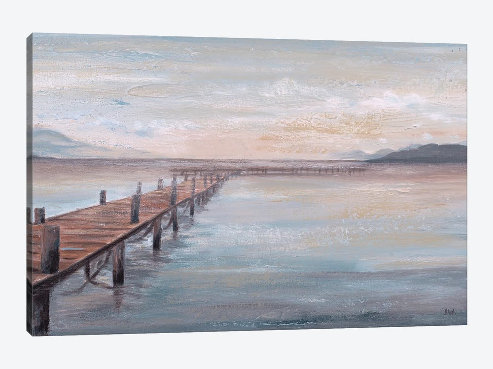 Calm Placid Lake by Patricia Pinto 1-piece Canvas Wall Art