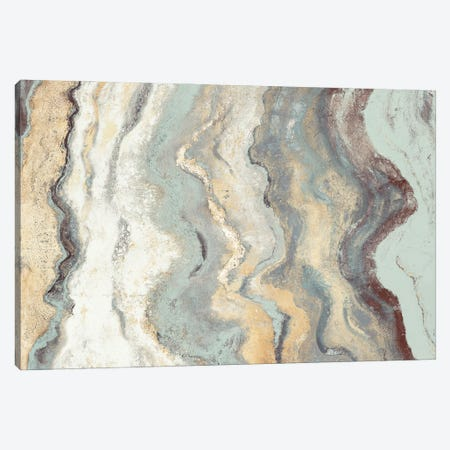 Cool Flow I Canvas Print #PPI689} by Patricia Pinto Canvas Wall Art