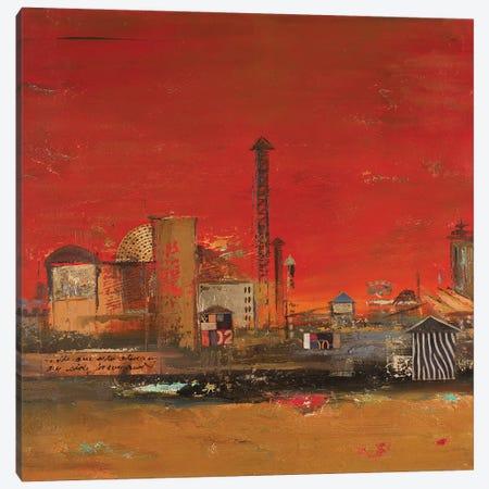 Crazy City I Canvas Print #PPI691} by Patricia Pinto Canvas Print