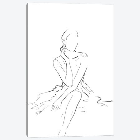 Fashion Illustration Canvas Print #PPI693} by Patricia Pinto Canvas Art Print