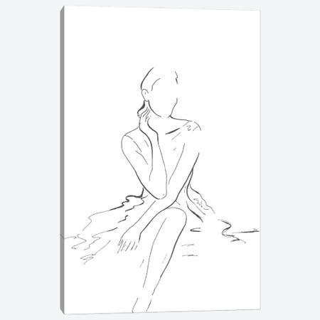 Fashion Illustration Canvas Print #PPI693} by Patricia Pinto Canvas Art Print