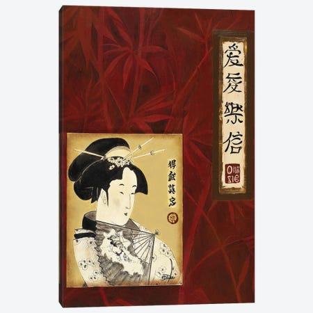 Geisha I Canvas Print #PPI695} by Patricia Pinto Canvas Artwork