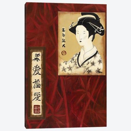 Geisha II Canvas Print #PPI696} by Patricia Pinto Canvas Art