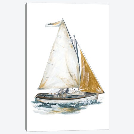 Gold Sail II Canvas Print #PPI698} by Patricia Pinto Art Print