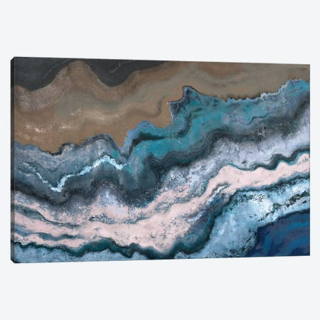 Blue Tierra Canvas Print #PPI69} by Patricia Pinto Canvas Art Print
