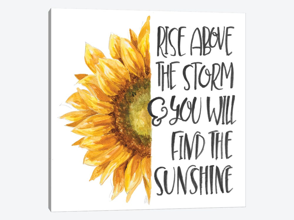 Harvest Sunflower Inspiration by Patricia Pinto 1-piece Canvas Wall Art