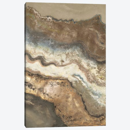 Lava Flow Panel I Canvas Print #PPI707} by Patricia Pinto Canvas Artwork