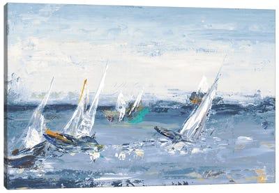 Blue Water Adventure Canvas Art Print
