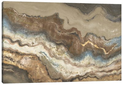 Neutral Tierra Canvas Art Print