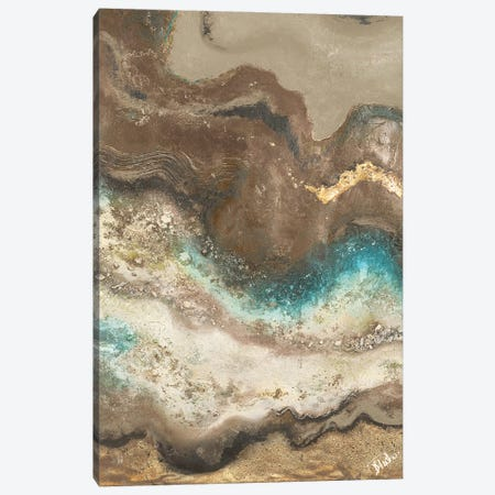 Neutral Tierra Rectangle I Canvas Print #PPI715} by Patricia Pinto Canvas Art Print
