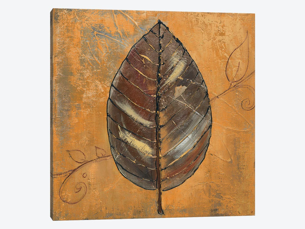 New Leaf III (Yellow) by Patricia Pinto 1-piece Canvas Wall Art