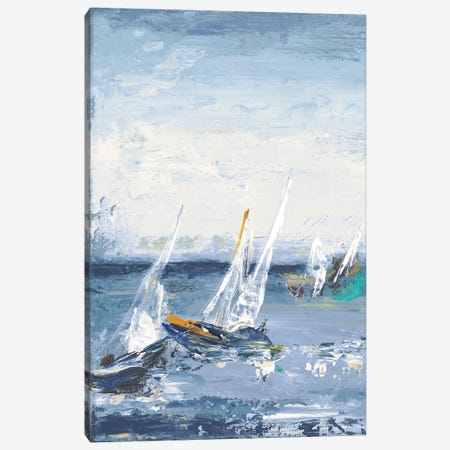 Blue Water Adventure I Canvas Print #PPI71} by Patricia Pinto Canvas Wall Art