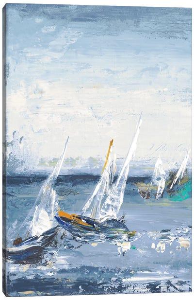 Blue Water Adventure I Canvas Art Print