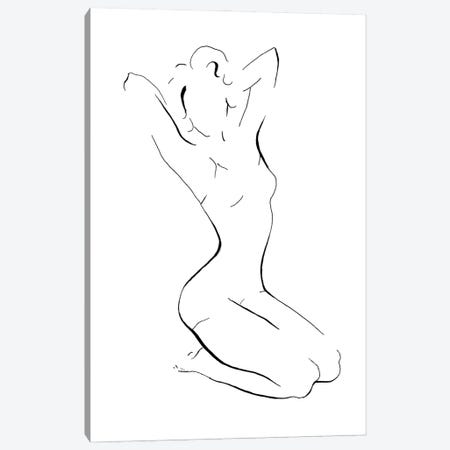 New Nudes I Canvas Print #PPI721} by Patricia Pinto Art Print