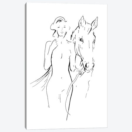 New Nudes II Canvas Print #PPI722} by Patricia Pinto Art Print