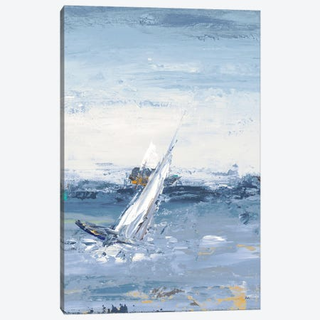 Blue Water Adventure II Canvas Print #PPI72} by Patricia Pinto Canvas Art