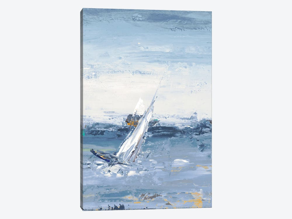 Blue Water Adventure II by Patricia Pinto 1-piece Art Print