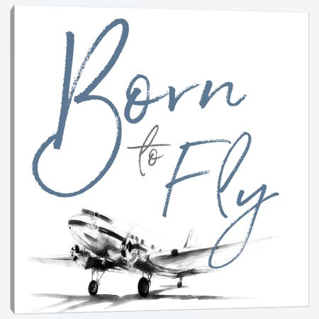 Born to Fly Canvas Print #PPI73} by Patricia Pinto Canvas Art