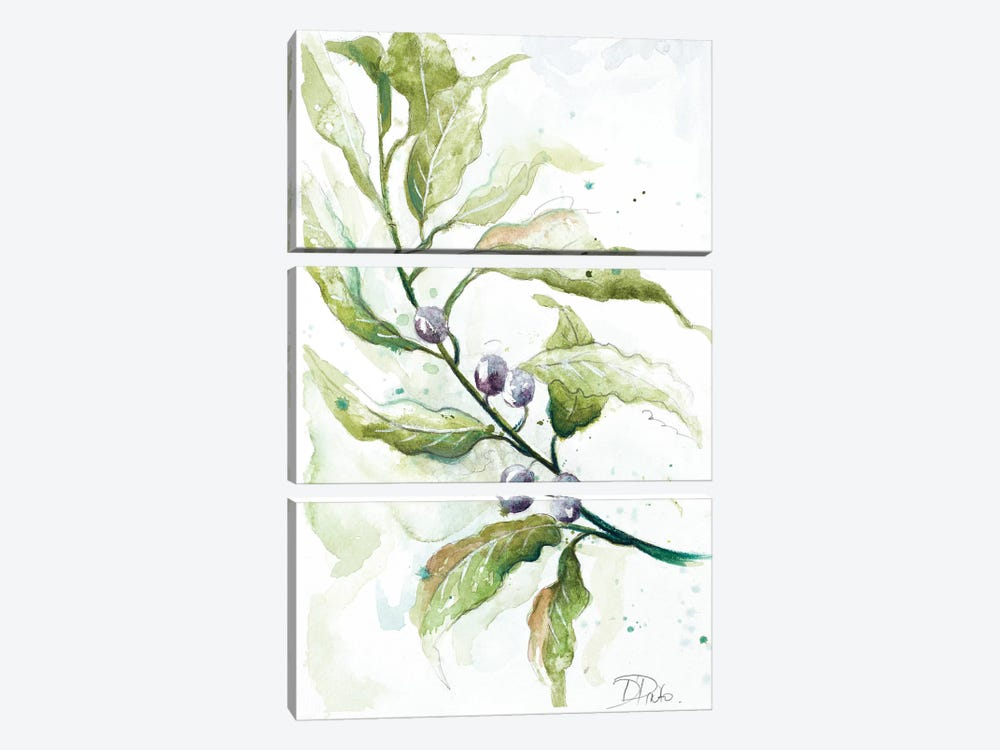 Branches to the Wind I by Patricia Pinto 3-piece Canvas Art