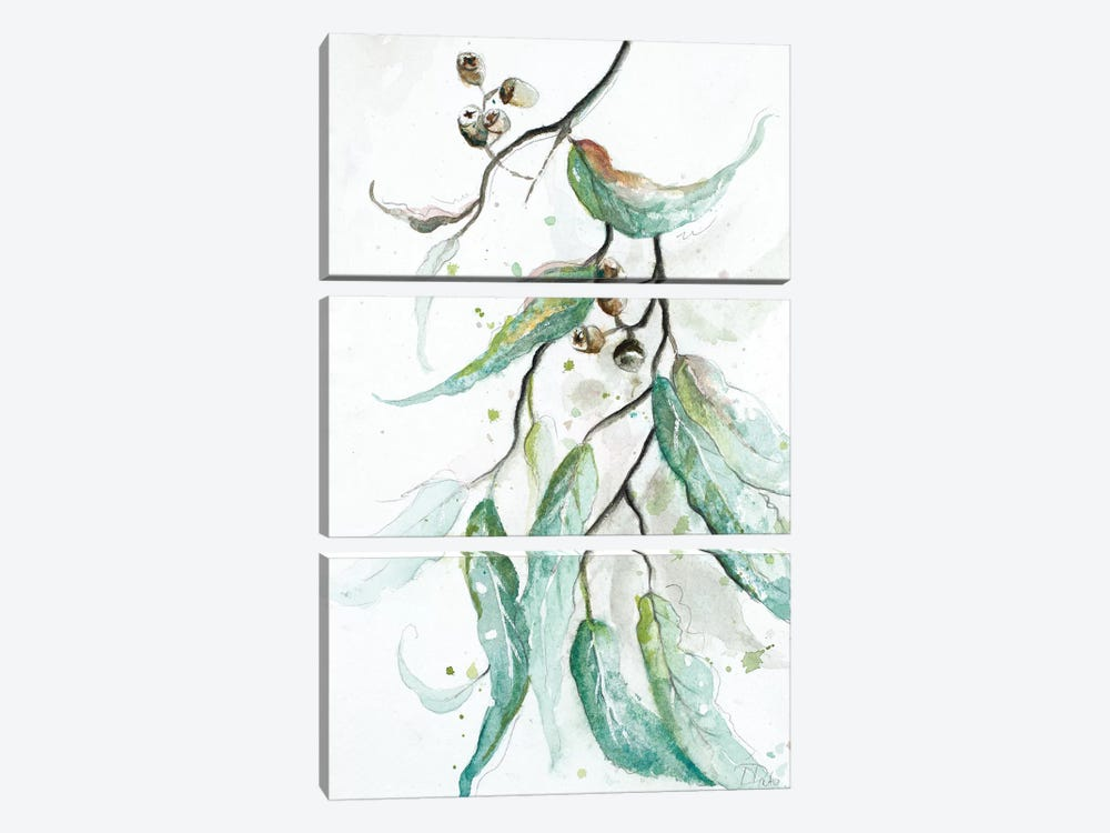 Branches to the Wind III by Patricia Pinto 3-piece Canvas Art