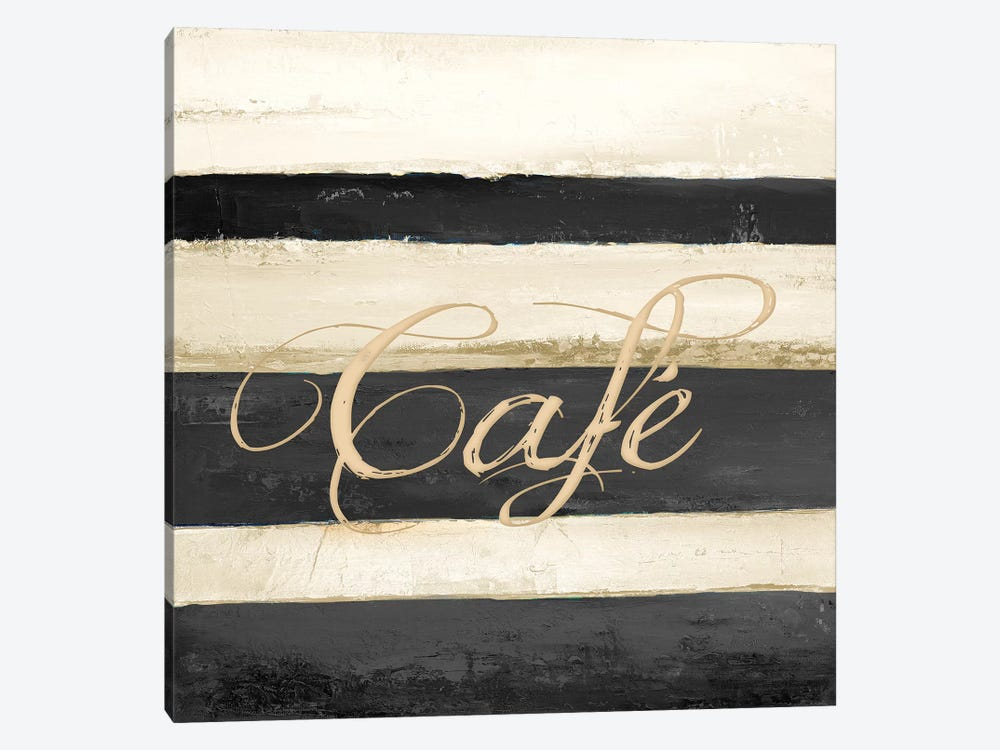 Cafe by Patricia Pinto 1-piece Canvas Art