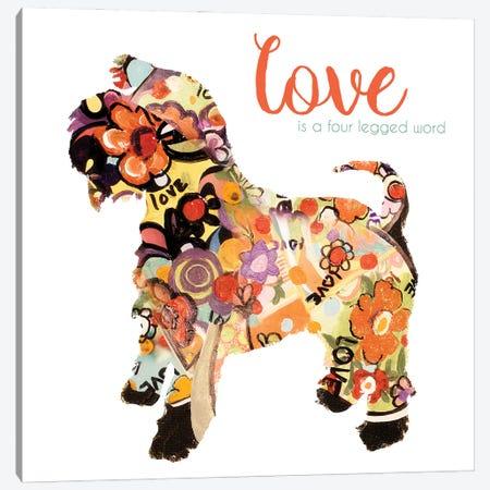 Pet Love I Canvas Print #PPI874} by Patricia Pinto Canvas Artwork