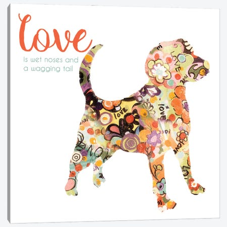Pet Love II Canvas Print #PPI875} by Patricia Pinto Canvas Art