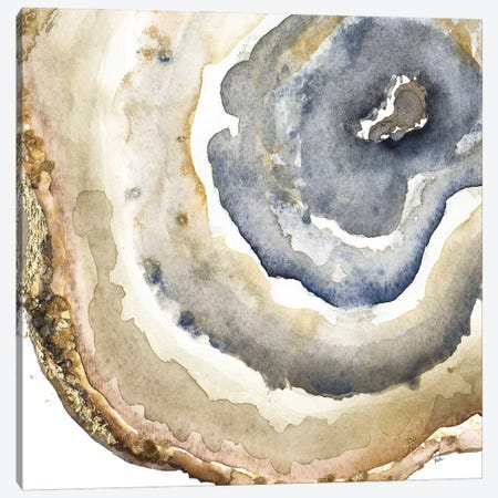 Up Close Agate Watercolor I Canvas Print #PPI918} by Patricia Pinto Canvas Wall Art