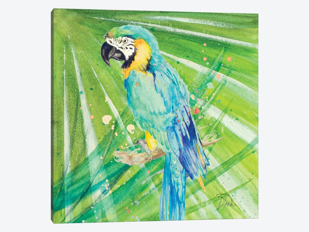 Colorful Parrot by Patricia Pinto 1-piece Art Print