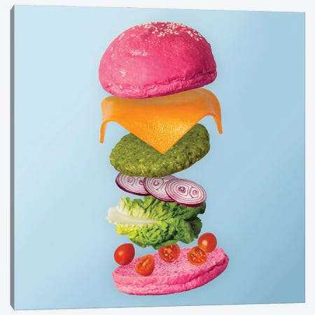 Colorful Menu Canvas Print #PPM11} by Pepino de Mar Canvas Artwork