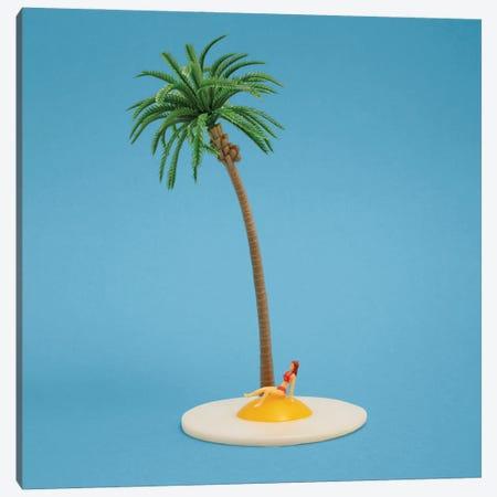 Fried Island Canvas Print #PPM20} by Pepino de Mar Art Print
