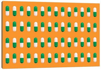 Green Pills Canvas Art Print