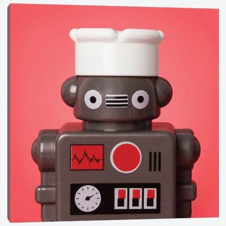 Kitchen Robot Canvas Print #PPM33} by Pepino de Mar Canvas Wall Art