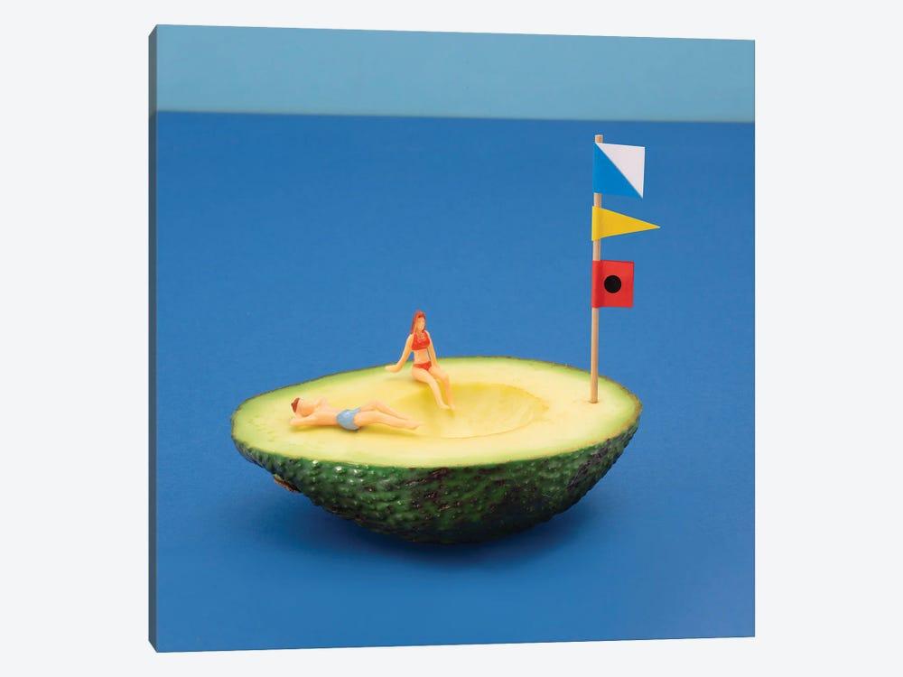 Avocado Boat by Pepino de Mar 1-piece Canvas Artwork