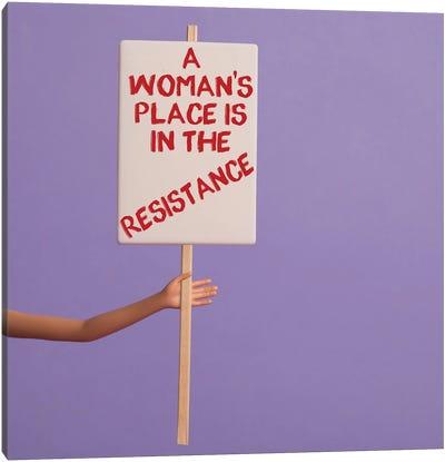 Resistance Canvas Art Print