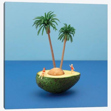 Avocado Island Canvas Print #PPM4} by Pepino de Mar Canvas Wall Art