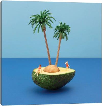 Avocado Island Canvas Art Print