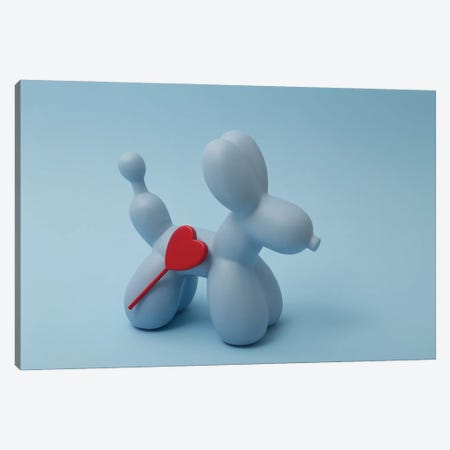 Sticky Dog Canvas Print #PPM50} by Pepino de Mar Canvas Artwork