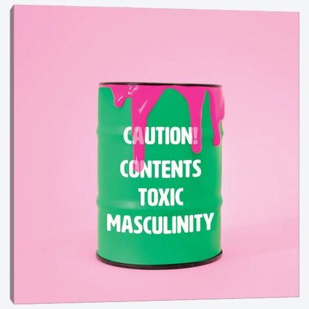 Toxic Canvas Print #PPM55} by Pepino de Mar Art Print