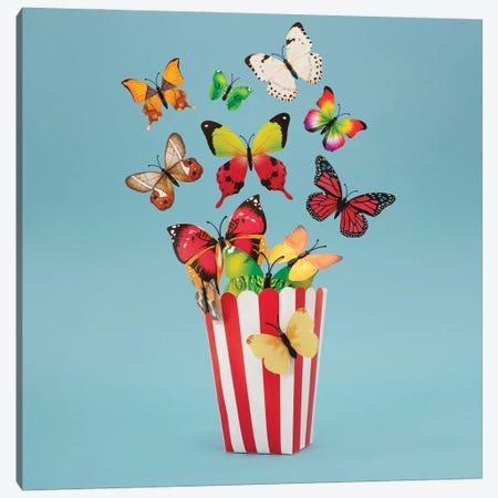 Popflies Aka Buttercorn Canvas Print #PPM9} by Pepino de Mar Canvas Art Print