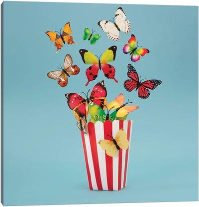 Popflies Aka Buttercorn Canvas Art Print