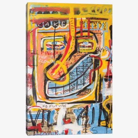 Donald Trampa Canvas Print #PPP12} by Diego Tirigall Canvas Art Print