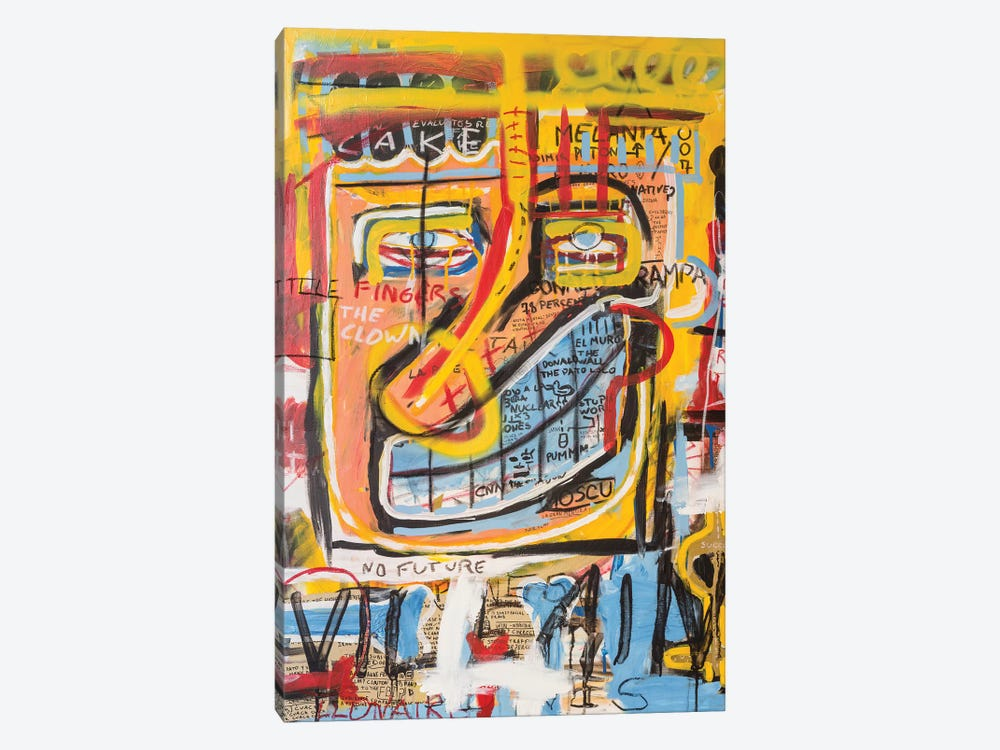 Donald Trampa by Diego Tirigall 1-piece Canvas Wall Art