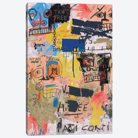 Pati Corti Canvas Print #PPP18} by PinkPankPunk Canvas Print
