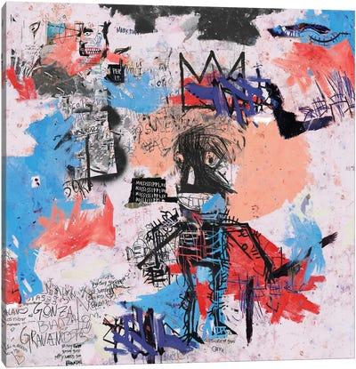 Samo Is Alive Canvas Art Print