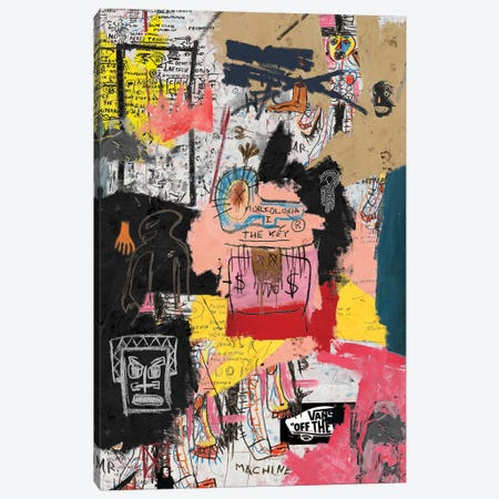 The Key Canvas Print #PPP25} by PinkPankPunk Art Print