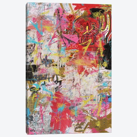 The Radiant Child Canvas Print #PPP26} by PinkPankPunk Art Print