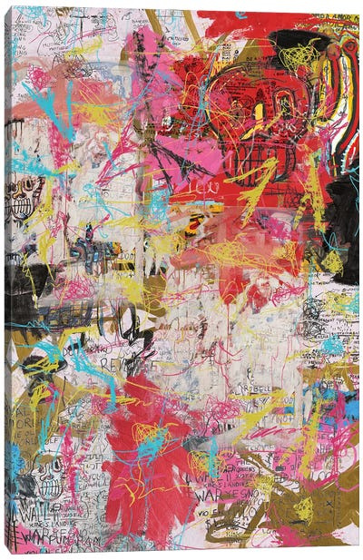 The Radiant Child Canvas Art Print