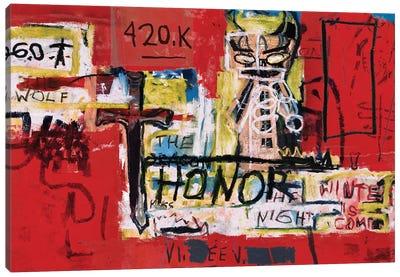 Honor Canvas Art Print